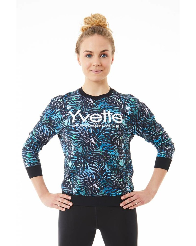 Yvette Sweatshirt Tropical Island