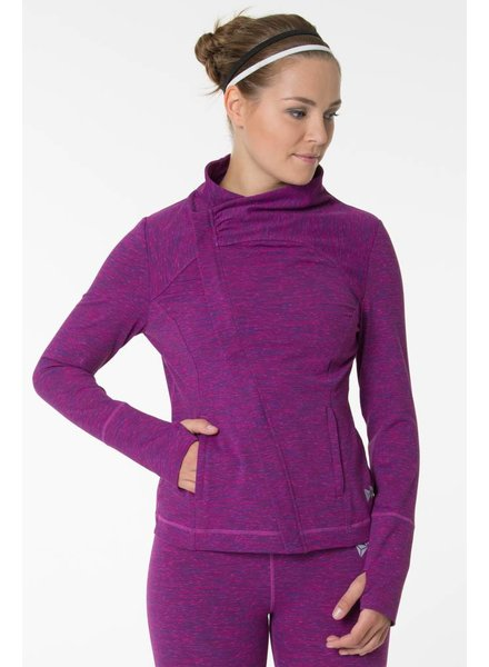 Yvette Zip Sweat Namasté Karma