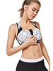 Yvette Sport-BH Zip white
