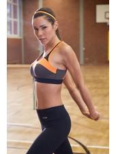 Yvette Sport-BH Hibiscus Orange