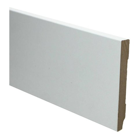 Whiteline plint recht 120x12 wit 16247