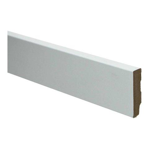 Whiteline plint recht 60x18 wit 16257