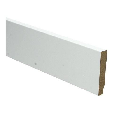 Whiteline plint recht 70x15 wit 16252