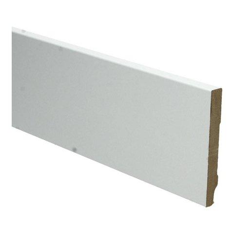 Whiteline plint recht 90x12 wit 16250