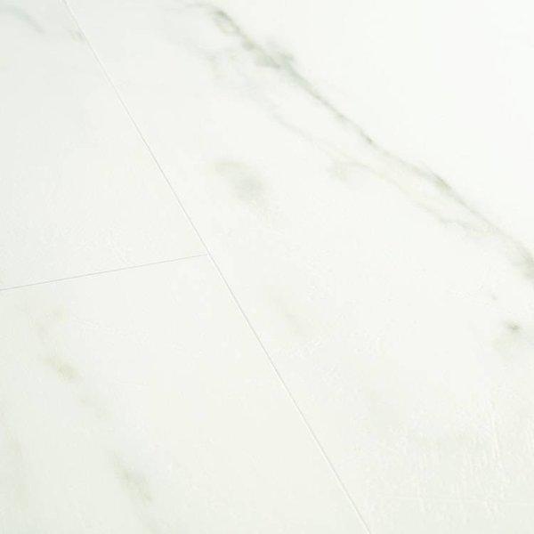PVC Quick-step Livyn Quickstep AMCL40136 Carrara Marmer Wit