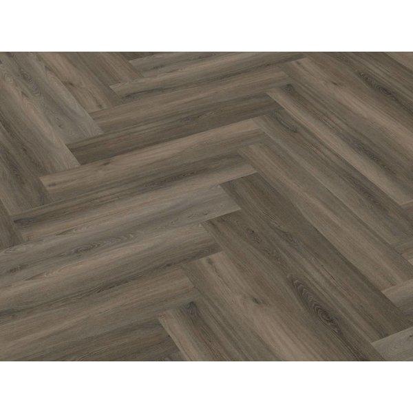 Floorlife Floorlife Yup Herringbone Dark Grey