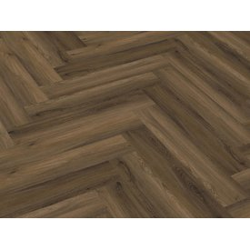 Floorlife Yup Herringbone Warm Brown