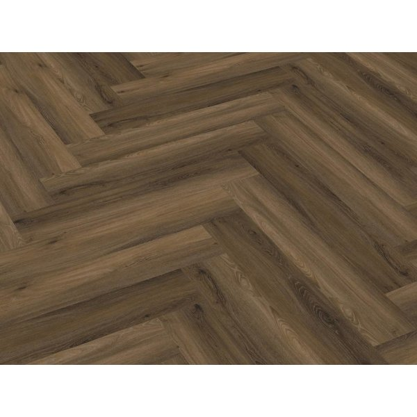 Floorlife Floorlife Yup Herringbone Warm Brown