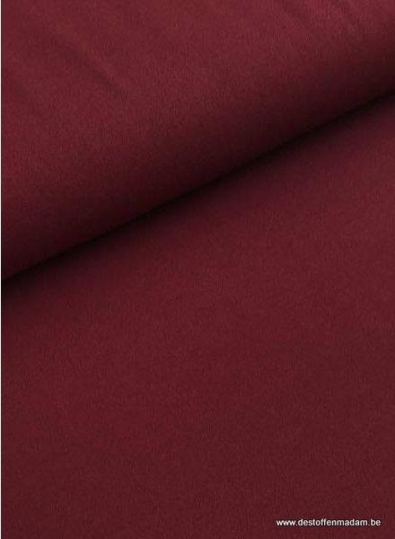 burgundy stretch crepe