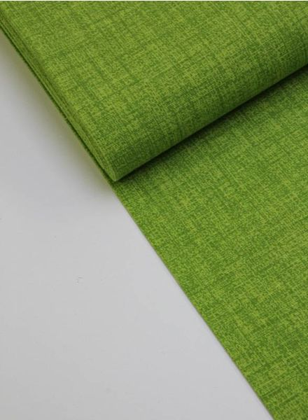 deco fabric - lime sketch