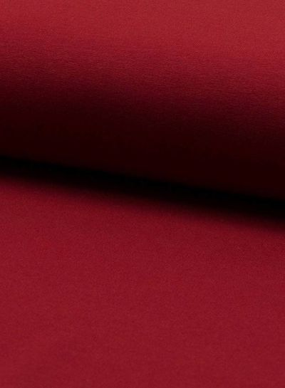 french terry wine red