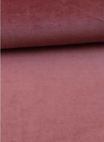 M nicky velours dusty pink