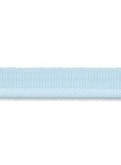 elastic piping soft blue matt