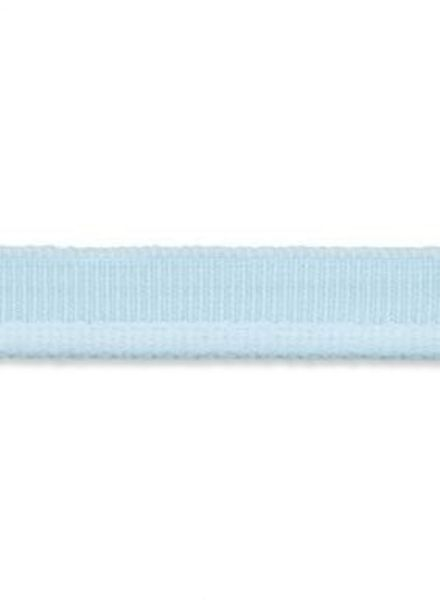 elastic piping soft blue matt