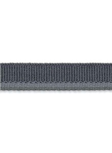 elastic piping grey matt