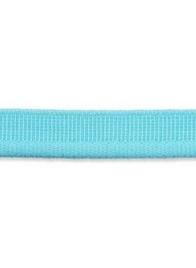 elastic piping turquoise matt