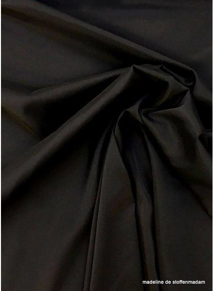 Venezia black stretch lining