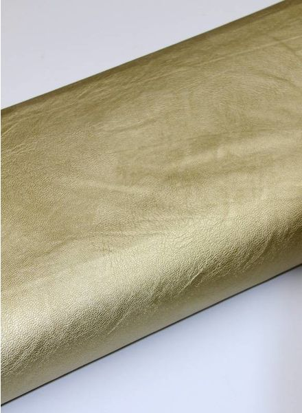 imitation leather - gold
