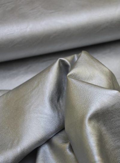 imitatieleer - zilver