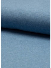 sky blue melee effen tricot
