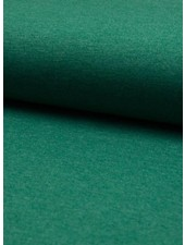 groen melee effen tricot