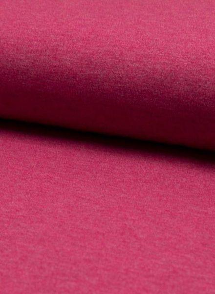 fuchsia melee effen tricot