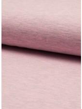 roze melee effen tricot