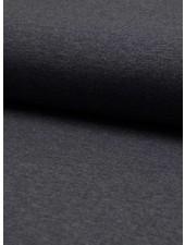 donker marineblauwe melee effen tricot