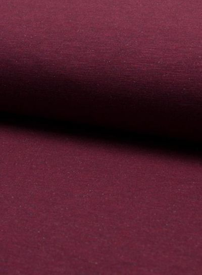 sweater melange - burgundy