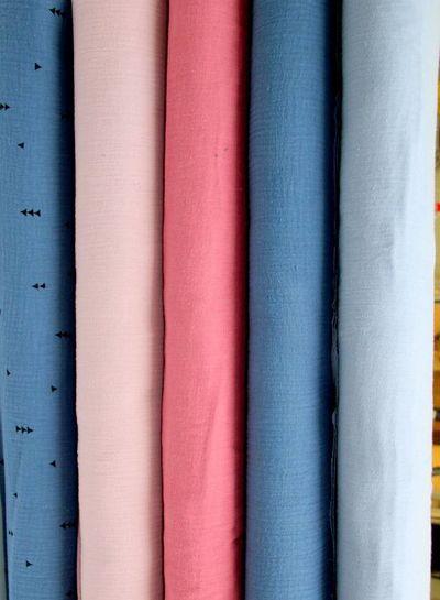 tetra fabric - denim blue