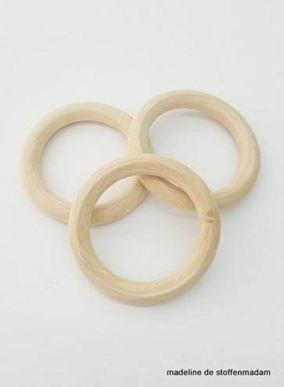 houten bijtring