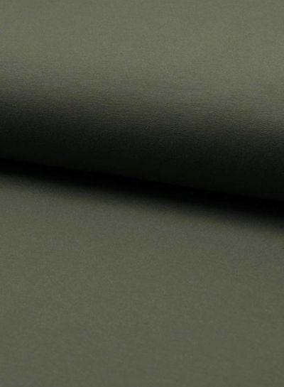 french terry khaki dark