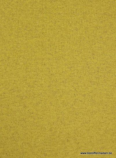 goud mosterd glitter boordstof
