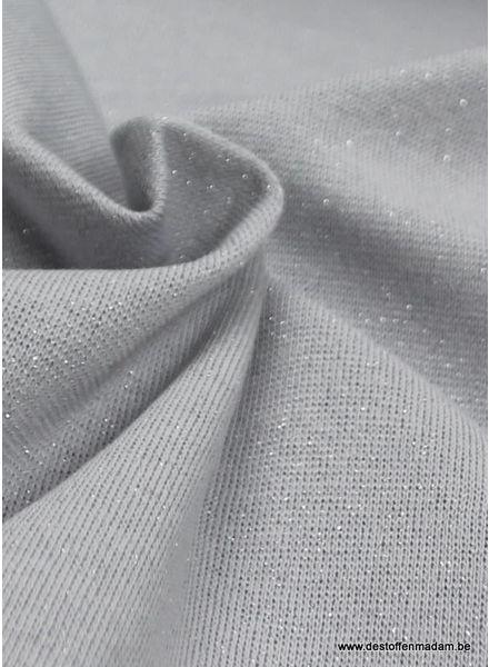 zilver wit glitter boordstof