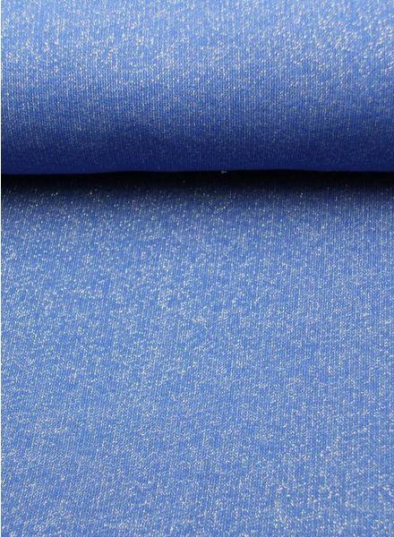 glitter sweater kobaltblauw
