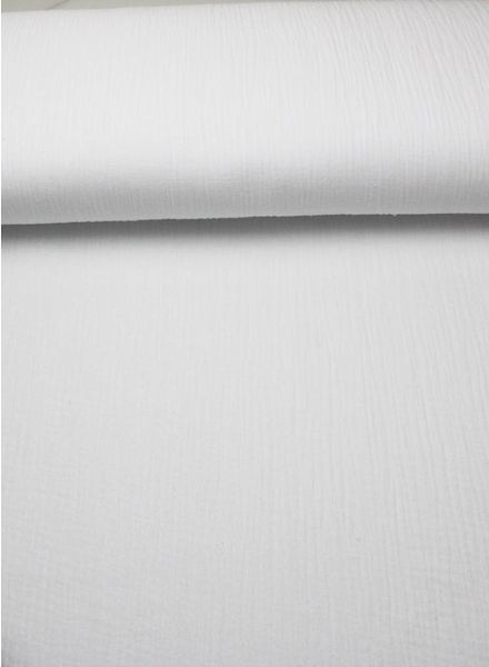 M tetra fabric - white blue