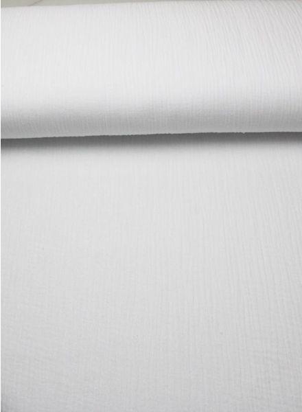 witte effen tetra - double gauze