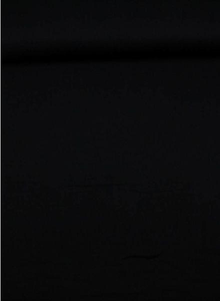 tetra fabric - black - double gauze