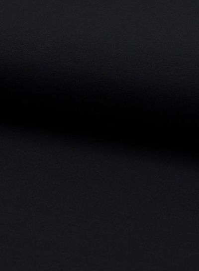 donkerblauw viscose jersey