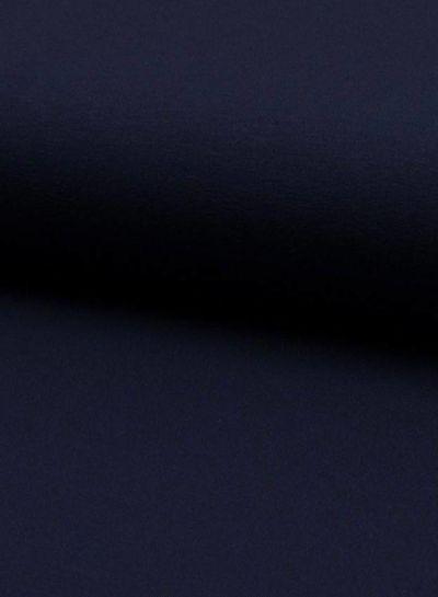 dark navy viscose jersey