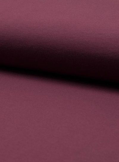 dark bordeaux plain jersey