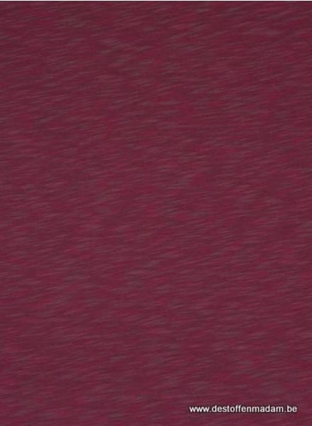 burgundy melee sweat