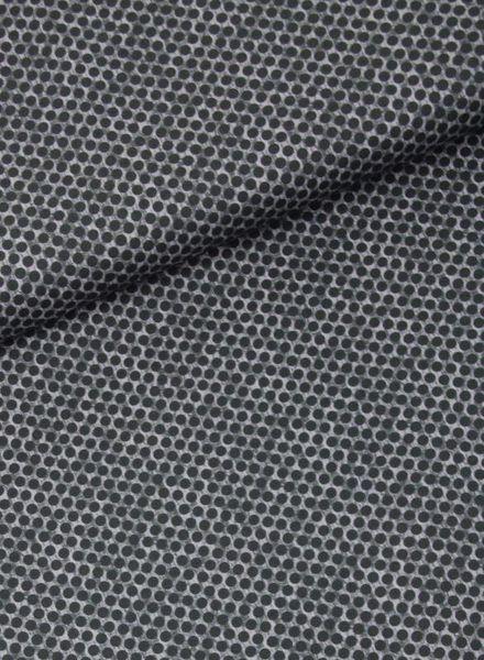 dots florian navy -  cotton