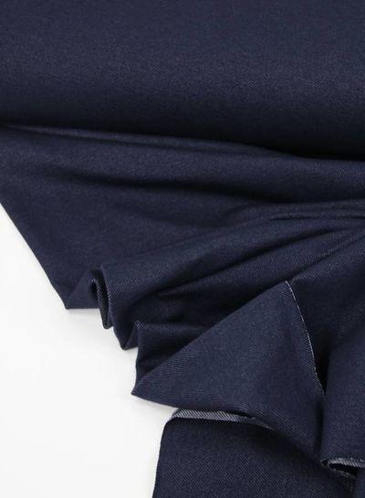 marine blauw stretch jeans