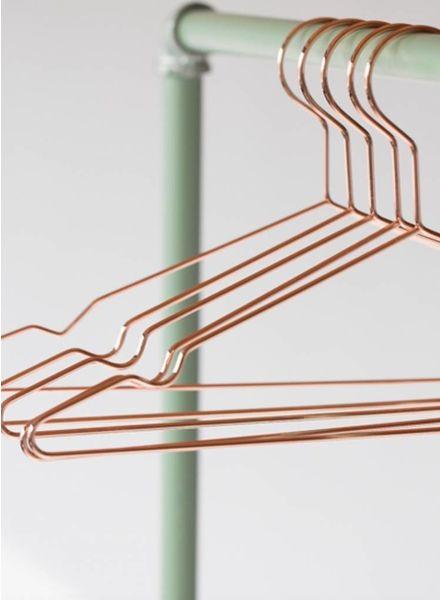 koper hanger 5 stuks -  SYAS