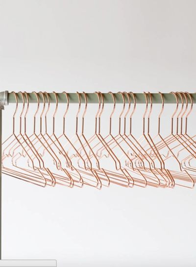 See You at Six rosé clothes hanger - 5 pieces