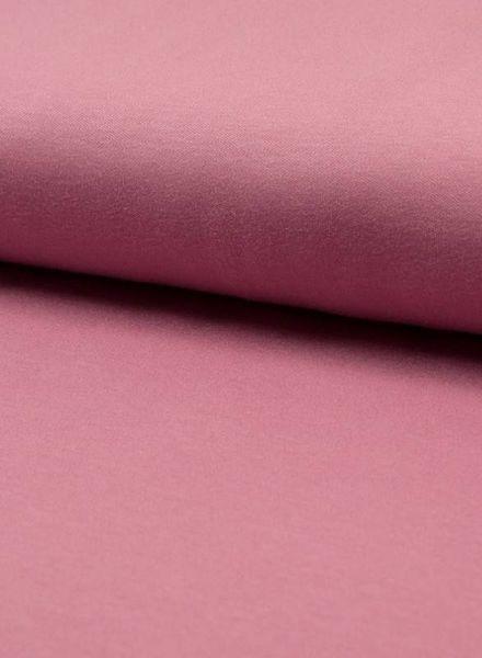 dusty pink -  organic interlock