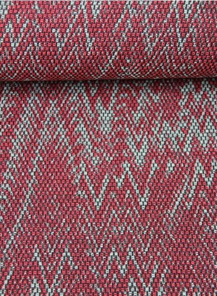 pink Chrisje - geweven jacquard