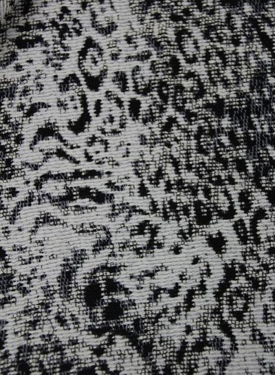 black beauty - geweven jacquard