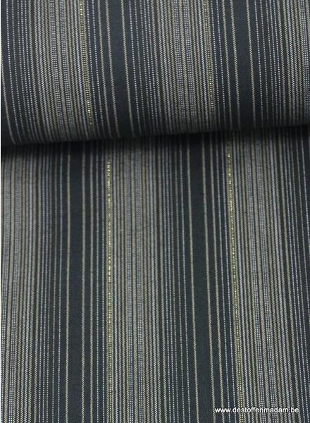 dyed stripe shimmer on - cotton